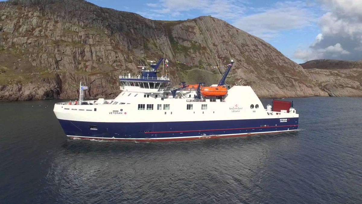 MV Veteran IceClassFerry